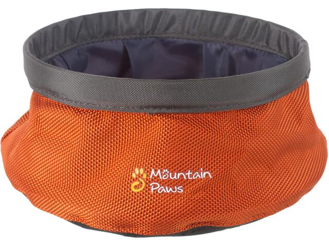 Mountain Paws Wasserschüssel S faltbar orange